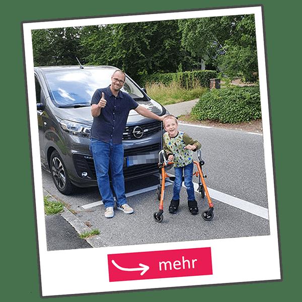 MOUNT NATURAL KIDS Behindertengerechtes Auto