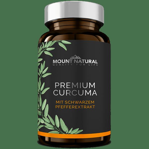 Mount Natural Premium Curcuma Einzeldose