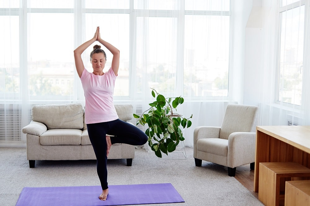 Mount Natural Home Workouts Yoga