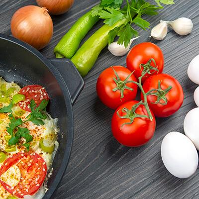 Schonende Zubereitung von Nahrungsmitteln