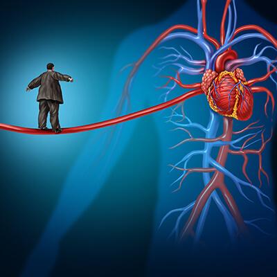 Uebergewicht Herz-Kreislauf-System
