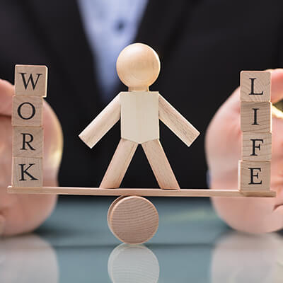 Work Life Balance Herz-Kreislaufsystem