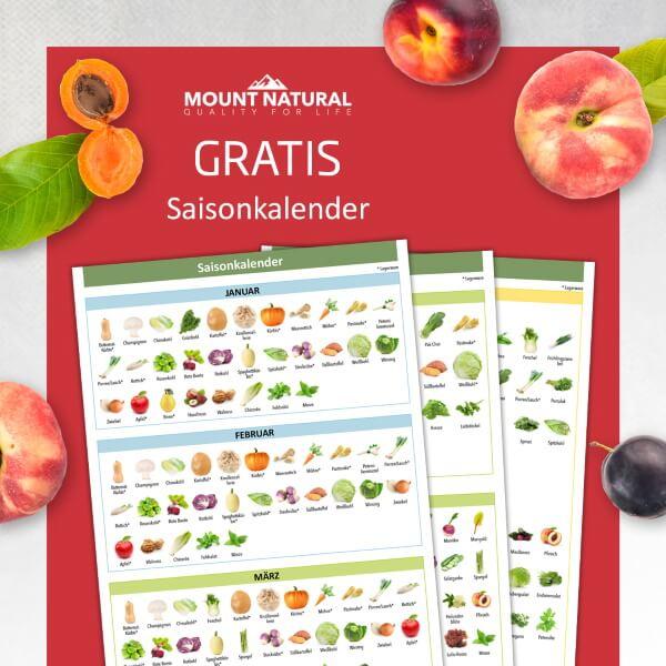 Saisonkalender E-Book