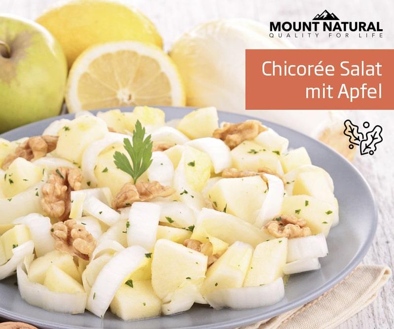 Rezept Chicorée Salat mit Apfel
