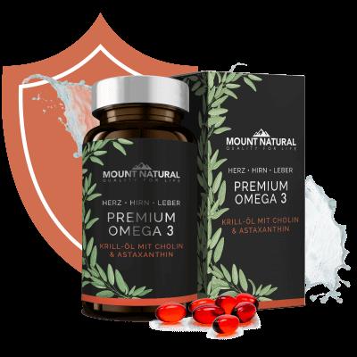 Herz-Kreislauf-System Premium Omega 3